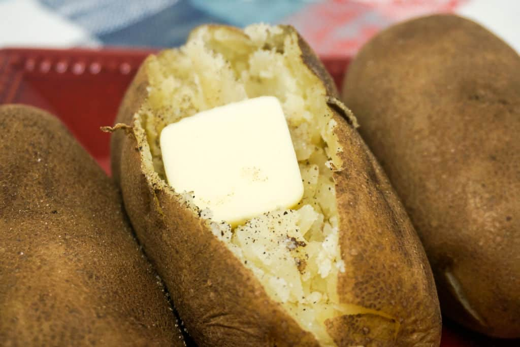 Perfect Baked Potatoes in Instant Pot