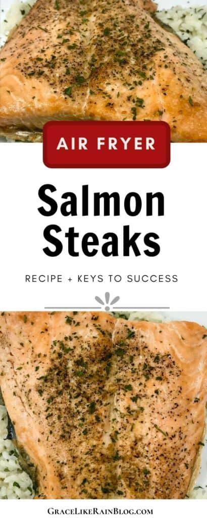 Air Fryer Salmon Steaks
