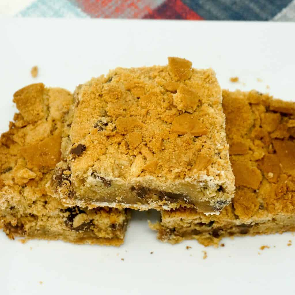 Nutter Butter Cookie Bars