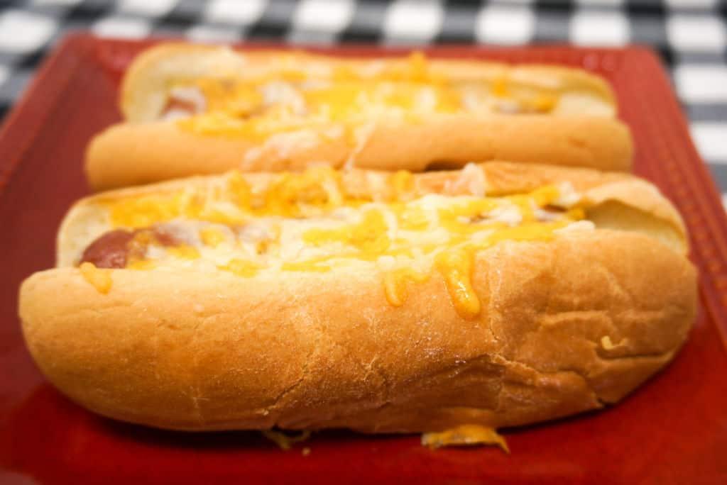 Air Fryer Hotdogs