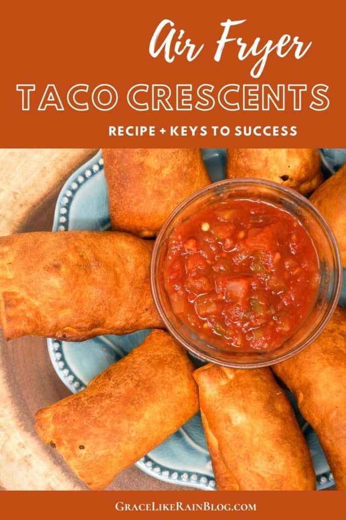 Air Fryer Taco Crescents