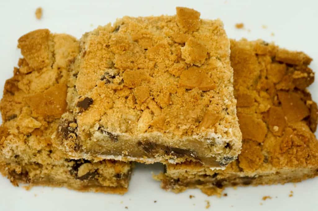 Nutter Butter Chocolate Chip Bars