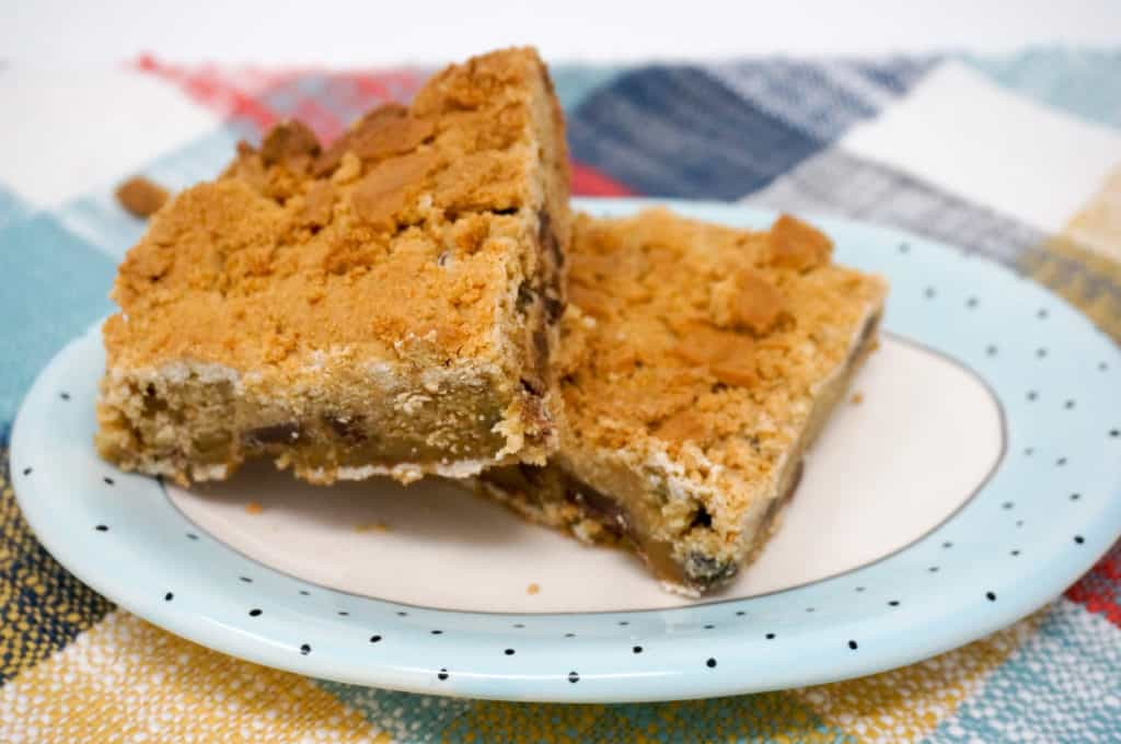 Nutter Butter Chocolate Chip Cookie Bars