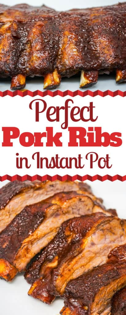 Perfect Pork Ribs in the Instant Pot