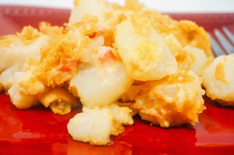 Pimento Cheese Potato Casserole