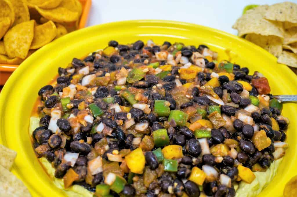 Texas Caviar Black Bean Dip