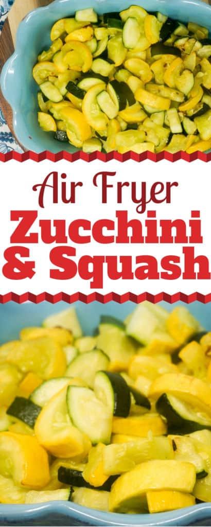 Air Fryer Zucchini and Squash