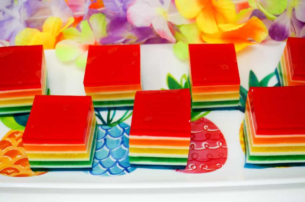 Hawaiian Layered Jello