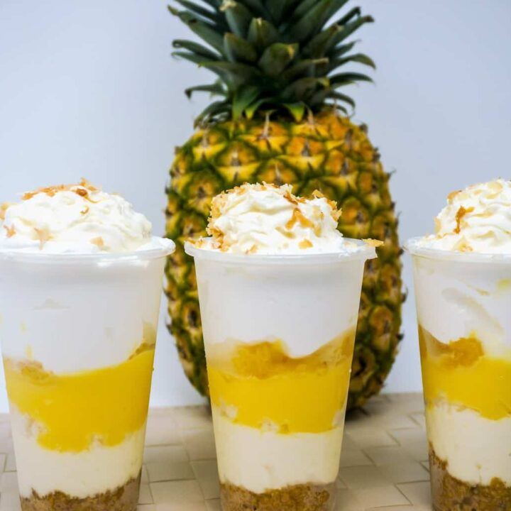 No-Bake Hawaiian Dream Cups