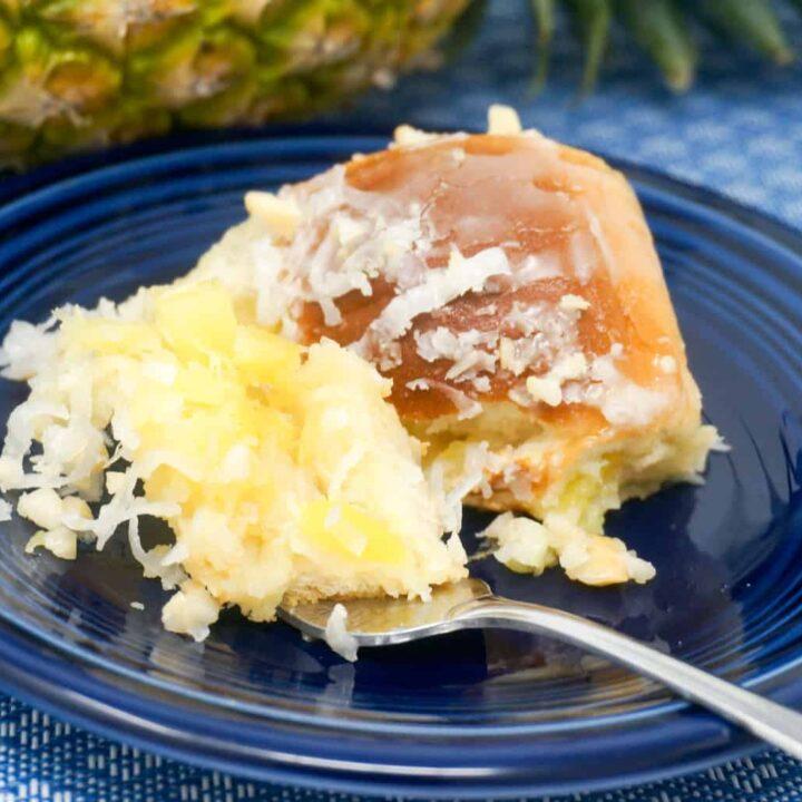 Pineapple Coconut Rolls