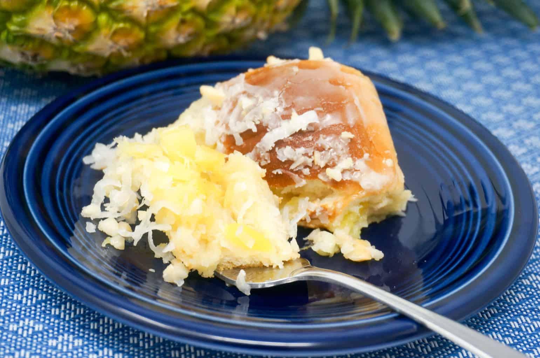 Pineapple Coconut Sweet Rolls
