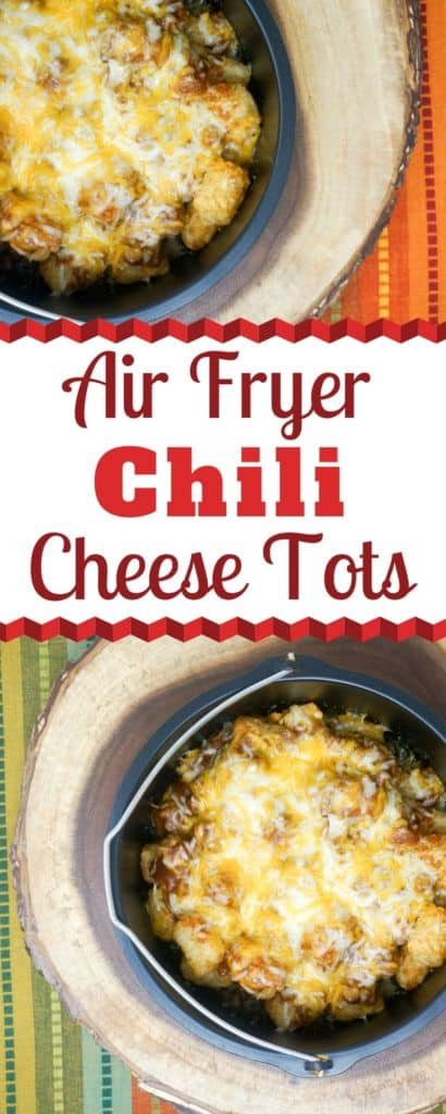 Air Frye Chili Cheese Tots
