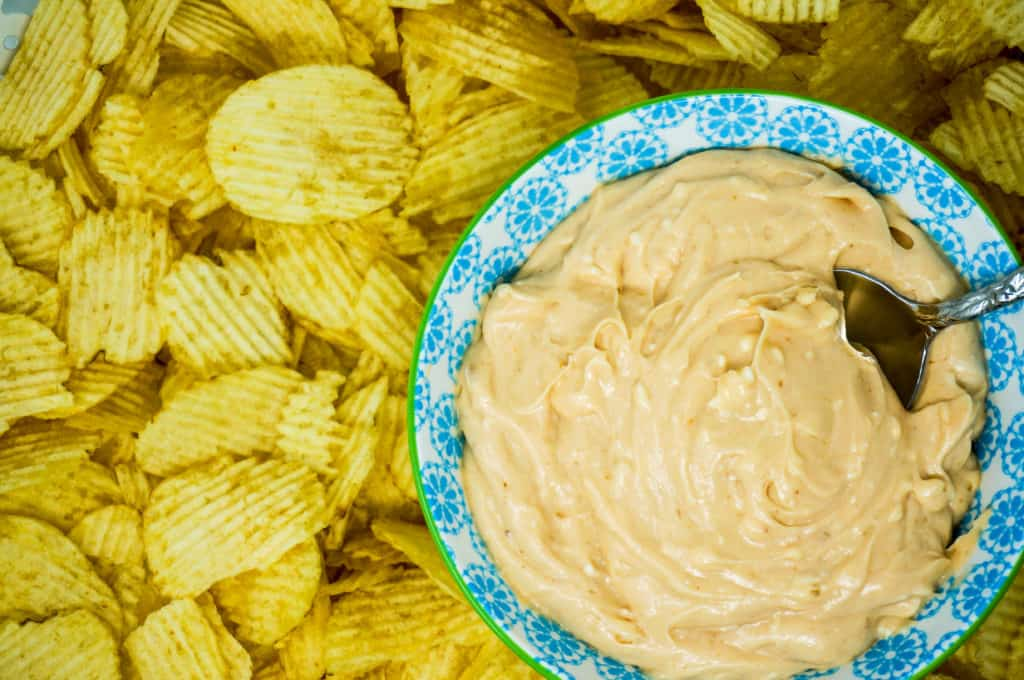 Barbecue Sauce Chip Dip