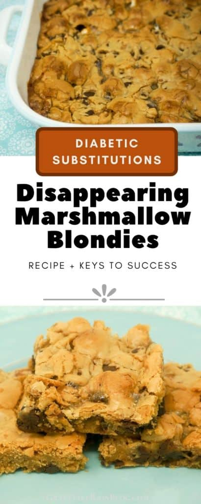Disappearing Marshmallow Brownies with Diabetic Substitutions