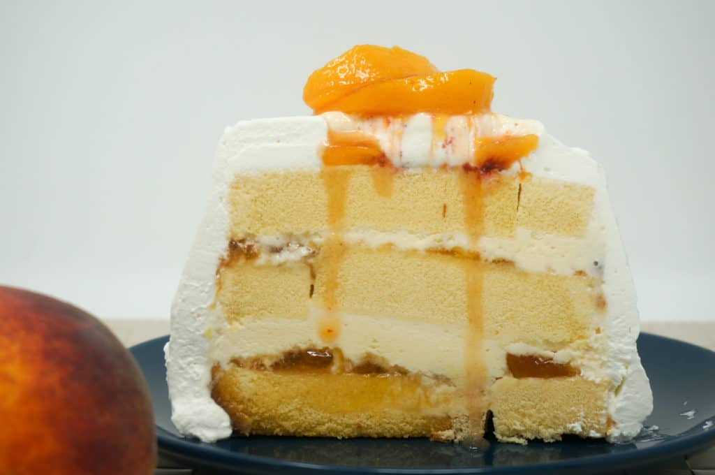 Southern Living Peaches 'n Cream Cake