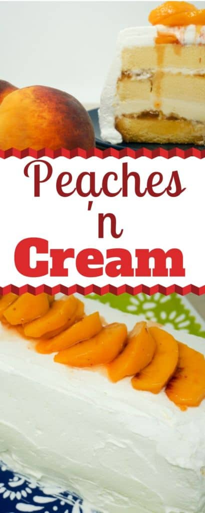 Southern Living Peaches and Cream Icebox Cake