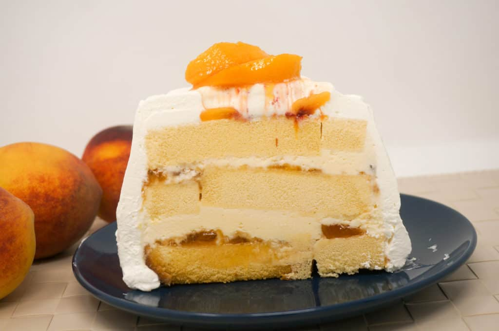 Peaches 'n Cream Icebox Cake