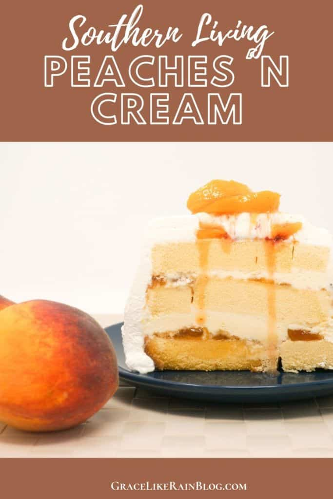 Southern Living Peaches and Cream