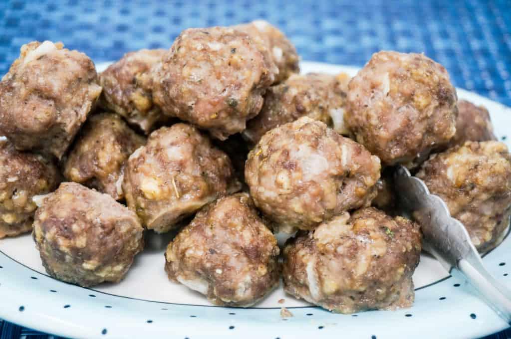 Air Fryer Easy Meatballs