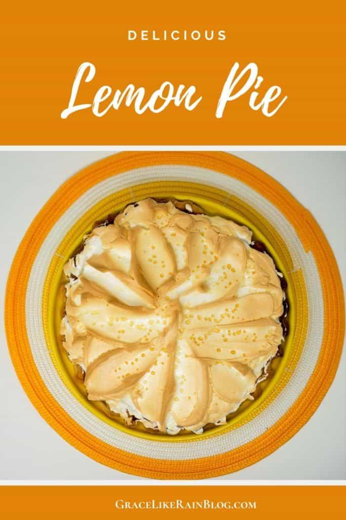 Old Time Lemon Pie