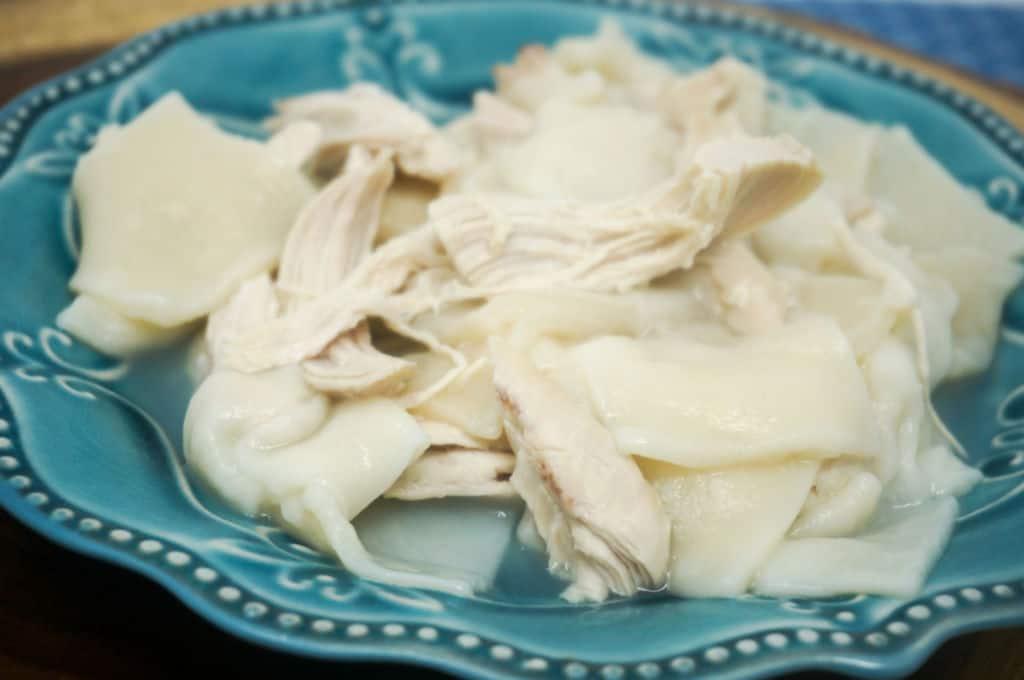 Instant Pot Chicken Dumplings