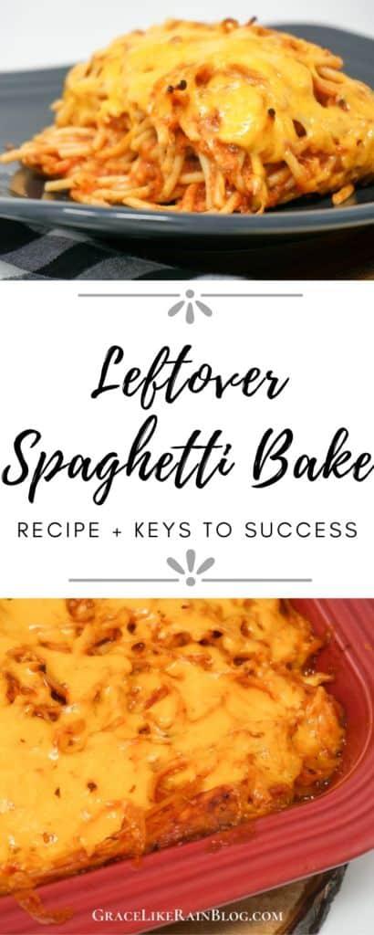Leftover Spaghetti Bake
