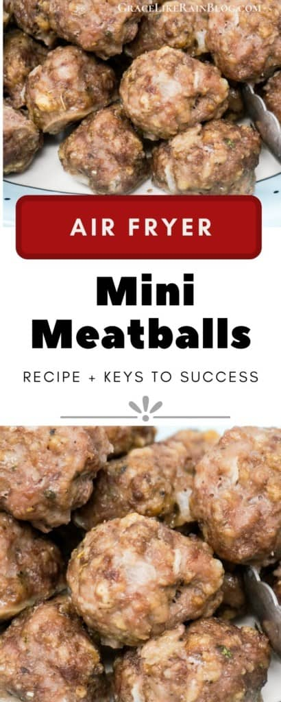 Air Fryer Mini Meatballs