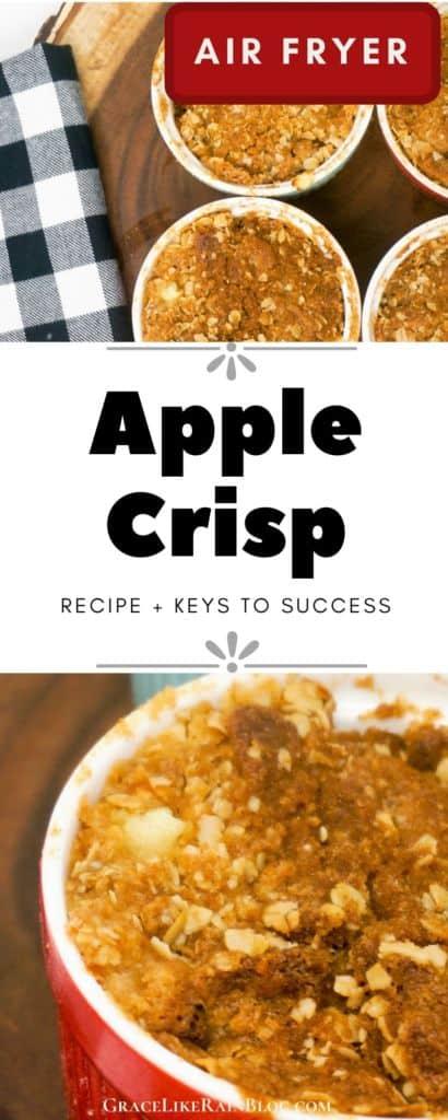 Air Fryer Apple Crisp