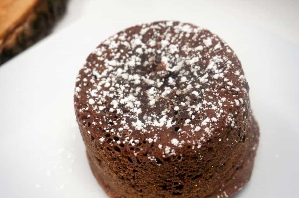 Air Fryer Chocolate Lava Cake