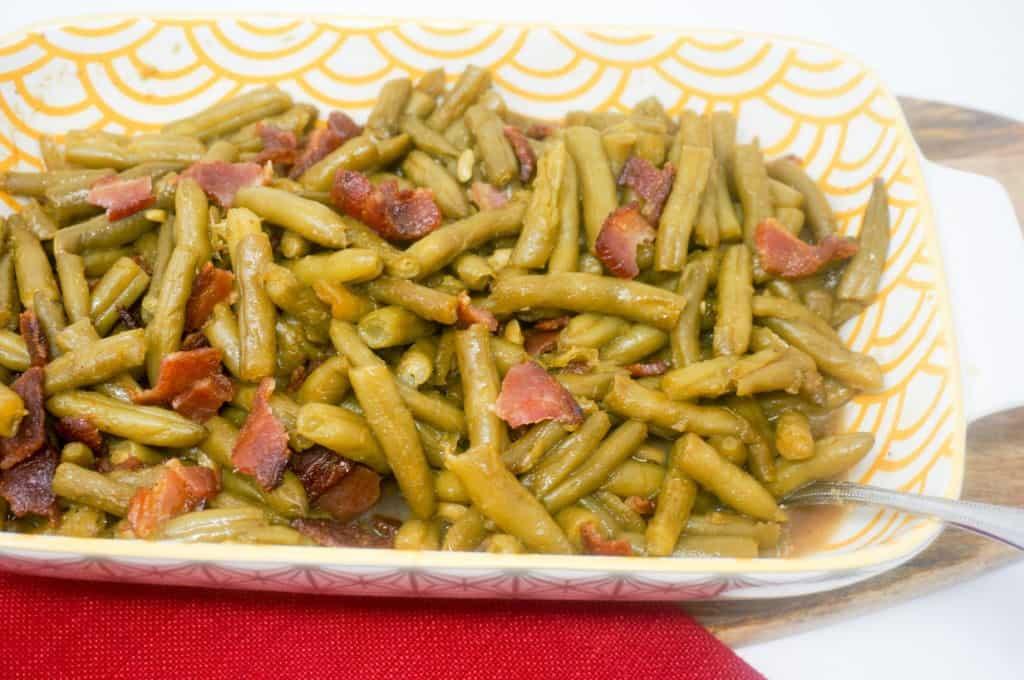 Brown Sugar Bacon Green Beans