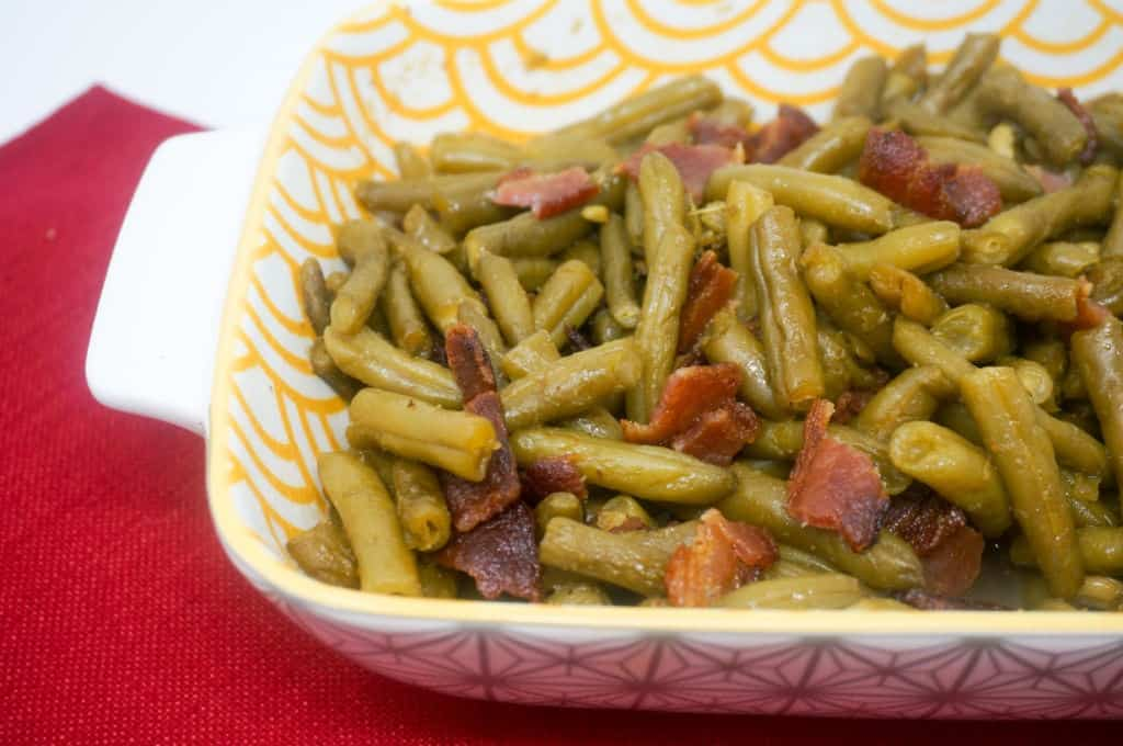 Green Beans with Brown Sugar and Bacon