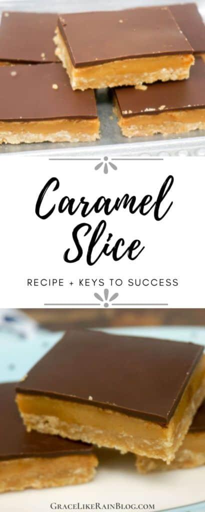 Caramel Slice