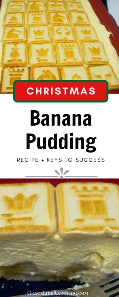 Christmas Banana Pudding