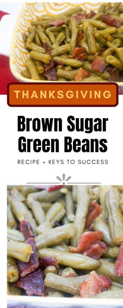 Thanksgiving Brown Sugar Bacon Green Beans