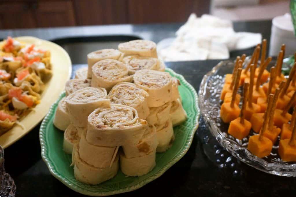 Chicken Bacon Ranch Tortilla Roll Ups