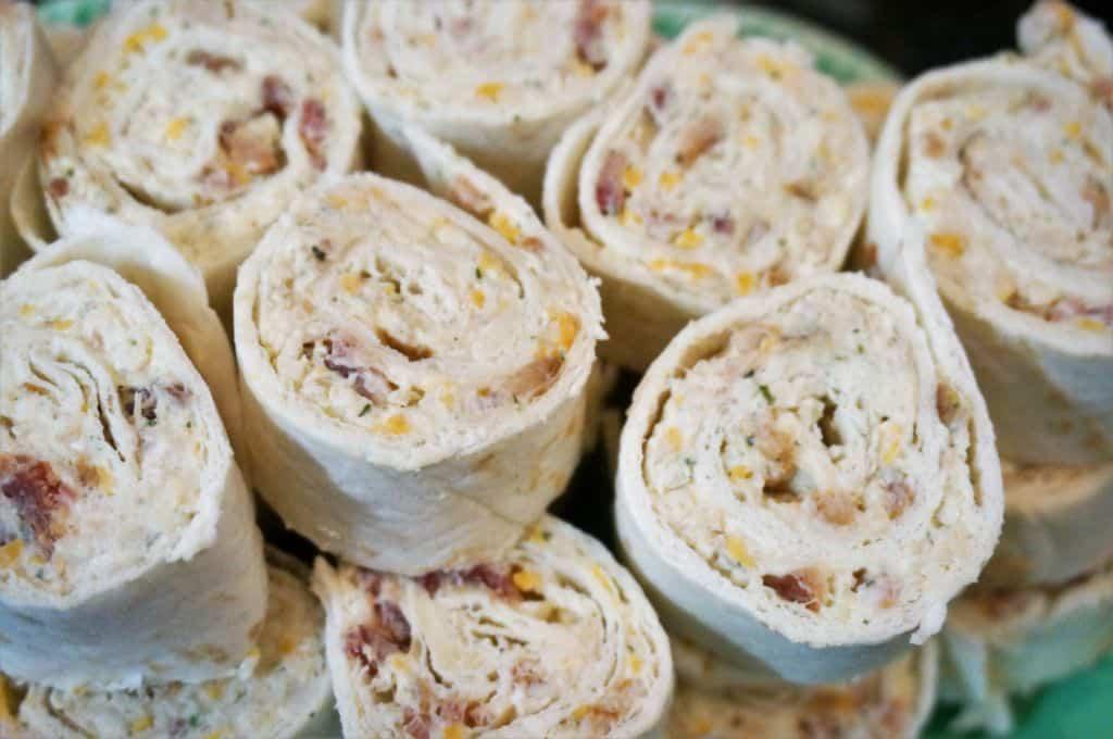 Cheddar Bacon Ranch Pinwheels