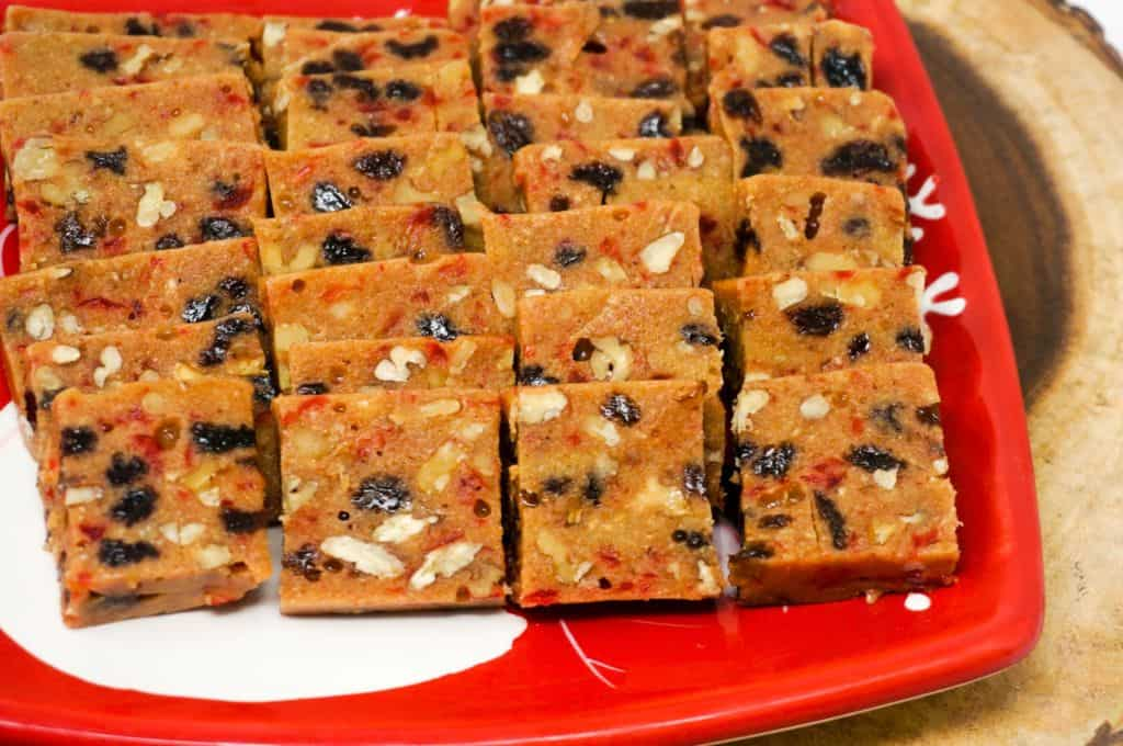 No Bake Fruitcake | Grace Like Rain Blog