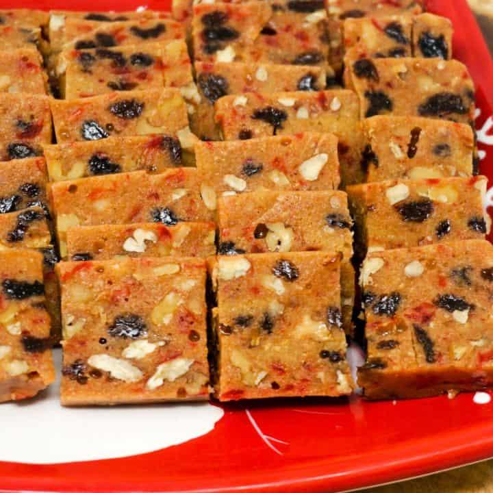Marshmallow Fruitcake