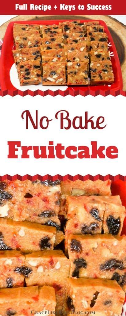 No Bake Fruitcake
