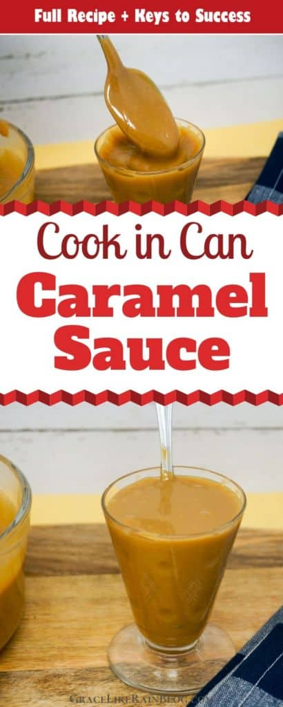 Caramel Sauce That Cooks in Can