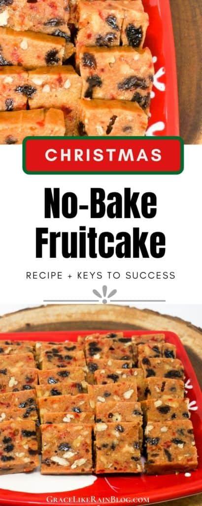 Christmas No-Bake Fruitcake
