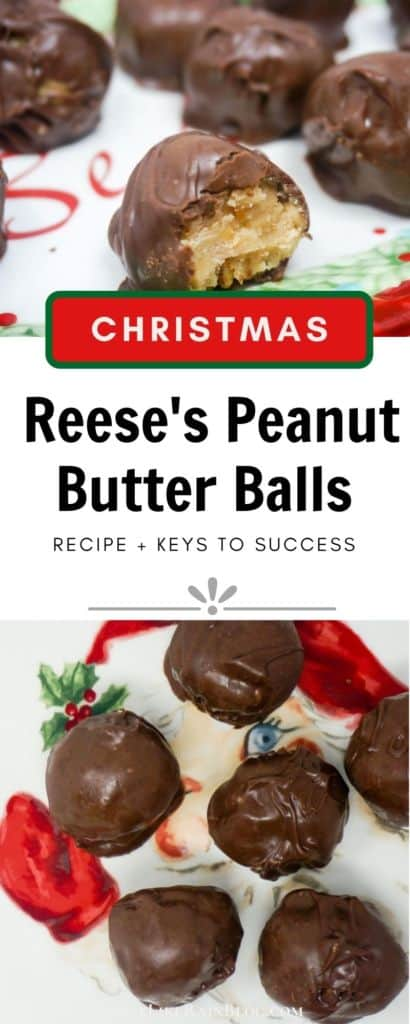 Christmas Reese's Peanut Butter Balls