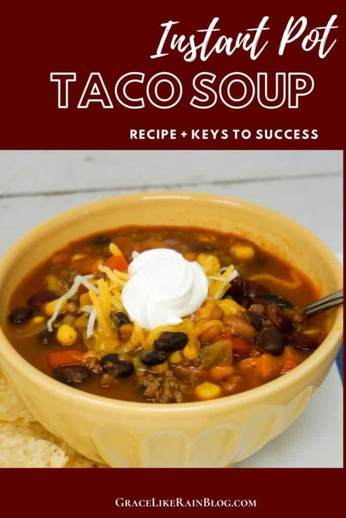 Easy Instant Pot Taco Soup