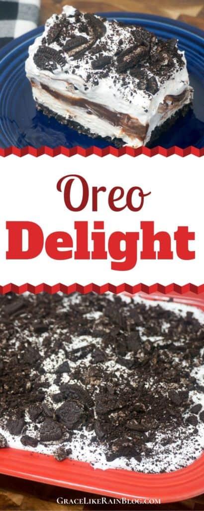 Oreo Delight Recicpe