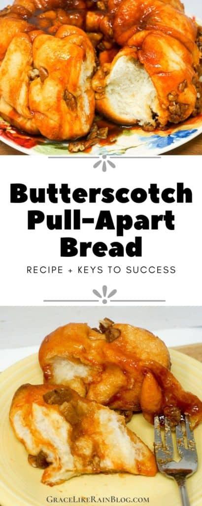 Paula Deen's Pull-Apart Butterscotch Monkey Bread