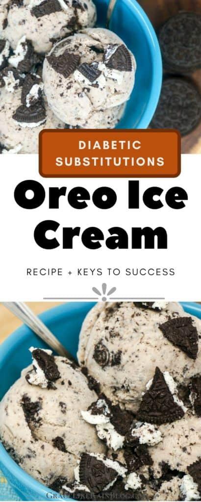 Oreo Cookies and Cream Ice Cream