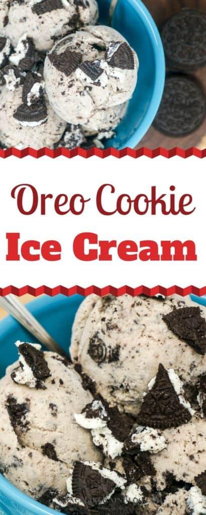 Oreo Cookie Ice Cream