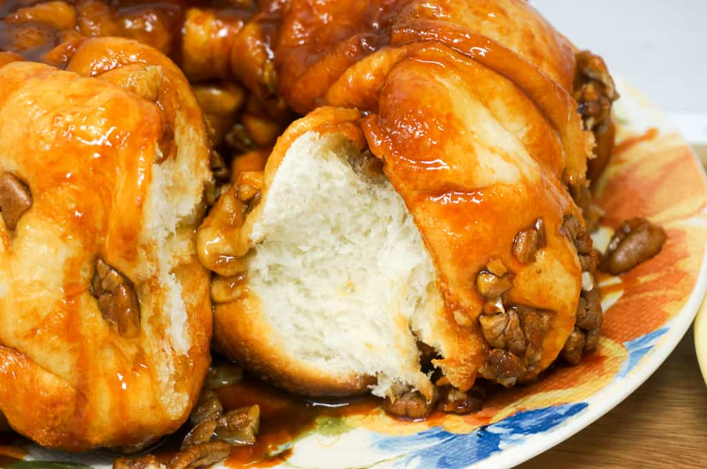 Paula Deen Butterscotch Pull-Apart Bread