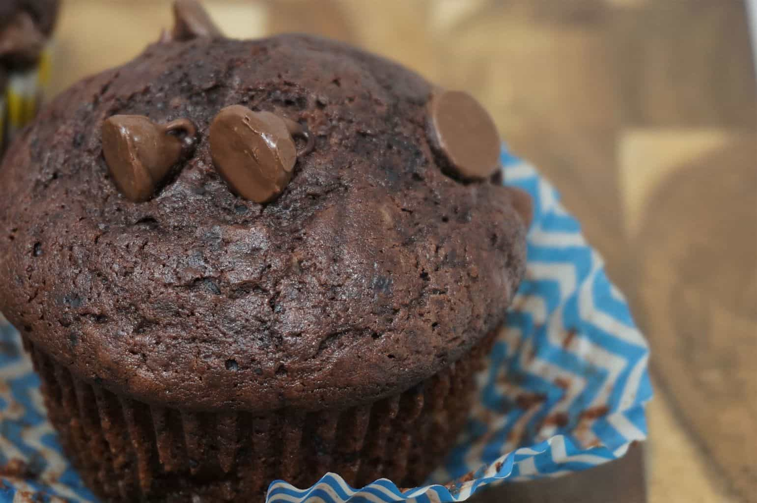 Double Chocolate Muffins