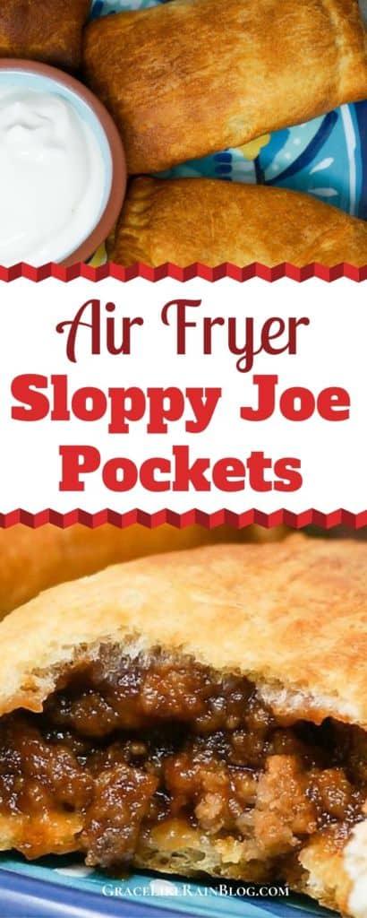 Air Fryer Sloppy Joe Pockets